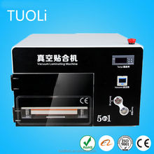 The latest models of mobile phones 5 in 1 lamination machine for refurbishing lcd touch screen
