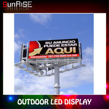 energying saving outdoor advertising DIP led display p10,p12,p16,p20 for entertainment