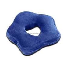 Quincunx PU Car Seat Back Support Cushion
