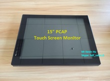 """HDF 15"""" vga dvi input lcd monitor / open frame touch screen displays for embedded systems"""