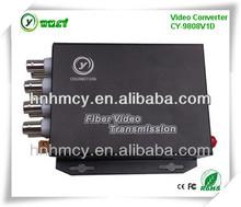 8 channel network audio video converter