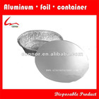 "7 polegada estilo americano uso forno rodada folha de alumínio bolo Baking Pan 7 3/10 x 1 4/5 """