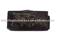wenyi hot selling PU leather mobile phone cover for Nokia N73