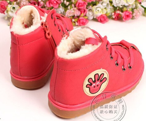 Ботинки для мальчиков baby thicking Мех