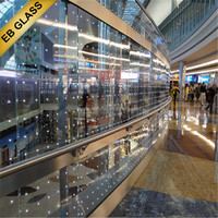 Led Glass For Store Decoration, EB GLASS