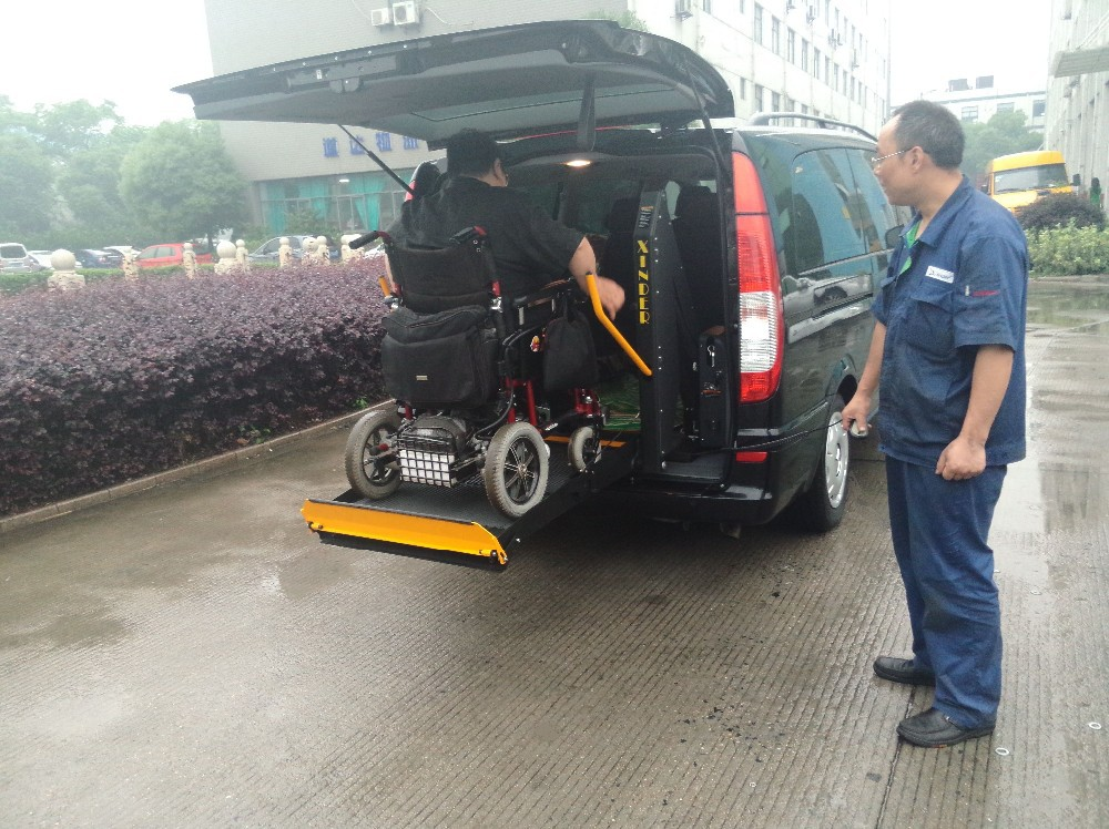 Wheelchair Lift for Disabled installed in Van and Minibus CE