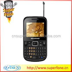mini Qwerty Phone S3332 from china 2.2 inch newest qwerty keyboard support TV