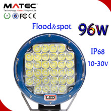 2015 hot sale on US market 9Inch CR Led 96W LED Driving Light, 9/32V Driving on Jeep, Offroad car Led driving light