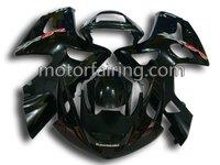 For ninja 636 zx6r 2003-2004 kawasaki zx6r fairings/bodykit/fairing kit black