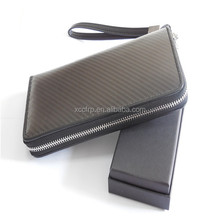 Men Wallet Carbon Fiber Wallet Carbon Fiber Hand Bag