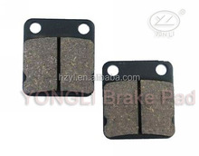 Rear sintered brake pads for KAWASAKI F KLX 125 CAF/DAF 10-11&KLX 125 DAF/DBF D-Tracker 10-11