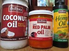 Palm kannell, red palm oil, fresh red oil, palm soda, soya bean