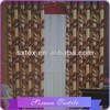 2015 New Design Flower Printed Blackout Window Curtain Fabric Wholesale