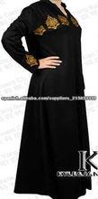 2013 diseño de moda para <span class=keywords><strong>las</strong></span> <span class=keywords><strong>mujeres</strong></span> abaya, caftanes, ropa islámica kj-eab001