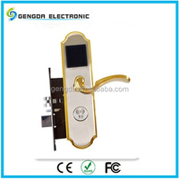 Wireless 6V Automatic Bloom Market Electronic Hotel Door Lock System For Europe and USA Countries