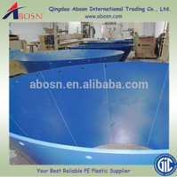 Self-lubricating customized UHMW-PE/hdpe Coal bunker liner