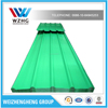 green Color steel sheet for warehouse and workshop /0.14-0.7mm full hard corrugated steel sheet