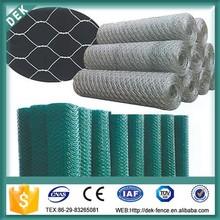 Hot sales galvanized pvc coated hexagonal fabric chicken iron wire mesh