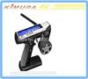 FLYSKY RC FS-GT3C 3ch 2.4GHz LCD Digital Display Screen FS GT3C Silver Remote Control Transmitter with GR3E Receiver