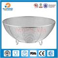 Malla de acero inoxidable cesta de frutas/cocina tamiz/vegetales cesta de almacenamiento