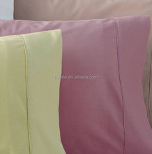 375Thread count 100% percale cotton sateen fabric for hotel bedding linen sheets