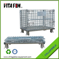 VITAFOM Hot Sale Collapsible Steel Stillage Stackable Warehouse Storage Container