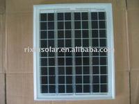10W/12V High Efficiency Monocrystalline silicon Solar Panel Module