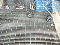 galvanized road steel grating,road steel bar grating, galvanized road bar grating