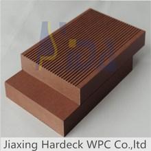 Antislip composite decking /wood plastic composite decking for swimming pool