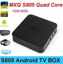 MXQ S805 Android TV Box Amlogic S805 Quad core Arabic IPTV Box