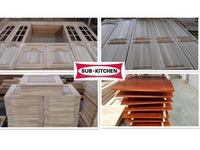 European style wood kitchen