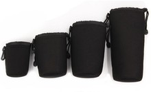 New Neoprene DSLR Camera Lens Soft Protector Carry Pouch Case Bag Size S M L XL