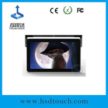 Best Brand 19inch taxi headrest advertising with 3g