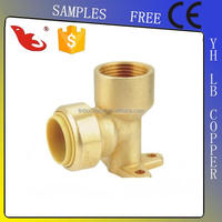 LBA-GUTEN TOP plastic pipe fittings gas pipe compression fittings brass water connection fittings