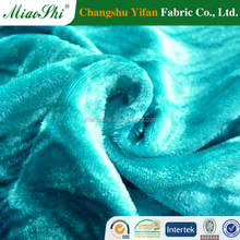 Direct supply four ways spun velvet with meterllic yifan fabric co.,ltd