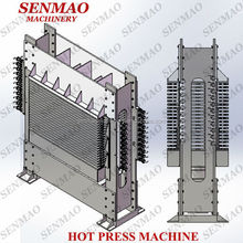 12mm veneer hot press machine/ Plywood hot press for wood door machine