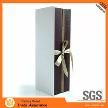 promotional handcrafted hard paper gift boxes for wine glasses