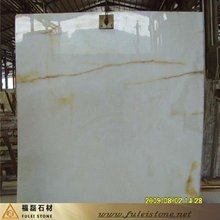 high polished natural pure white marble slabs (good price)