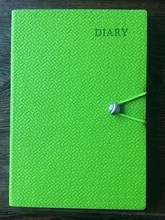 Soft Refillable Leather Locked Dairy Notebooks
