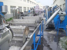 waste plastic film/bags recycling machine
