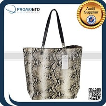 New Handle Digtal Printing Snake Skin , Tote Bag, Handbags