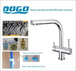 EU Market top sale kitchen faucet in chrome plated