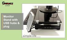 Multifunction laptop rack, laptop riser,laptop stand with usb hub