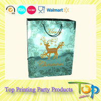 Smooth Printing Personalized Wine Gift Packing Bags