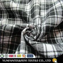 2015 latest design fashion soft Egyptian yarn dyed beautiful COTTON twill flannel fabric