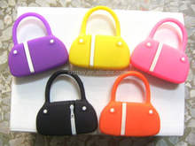 Bulk 1gb usb flash drive,lady fashion bag shape usb flash drive,bulk plastic usb flash memory