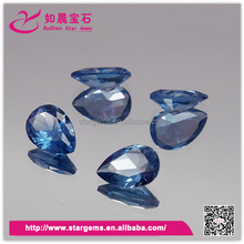 Synthetic gems synthetic spinel rough octagon cut dark blue 114# spinel