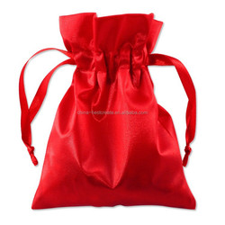 Custom Drawstring Satin promotion gift Pouch