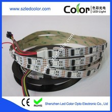 dc5v diamond color changing ws2801 addressable ribbon lights