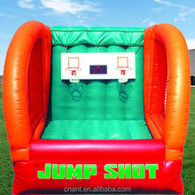 customized inflatable basketball shooting game